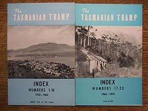 The Tasmanian Tramp. INDEX to Numbers 1-16,: HOBART Walking Club.