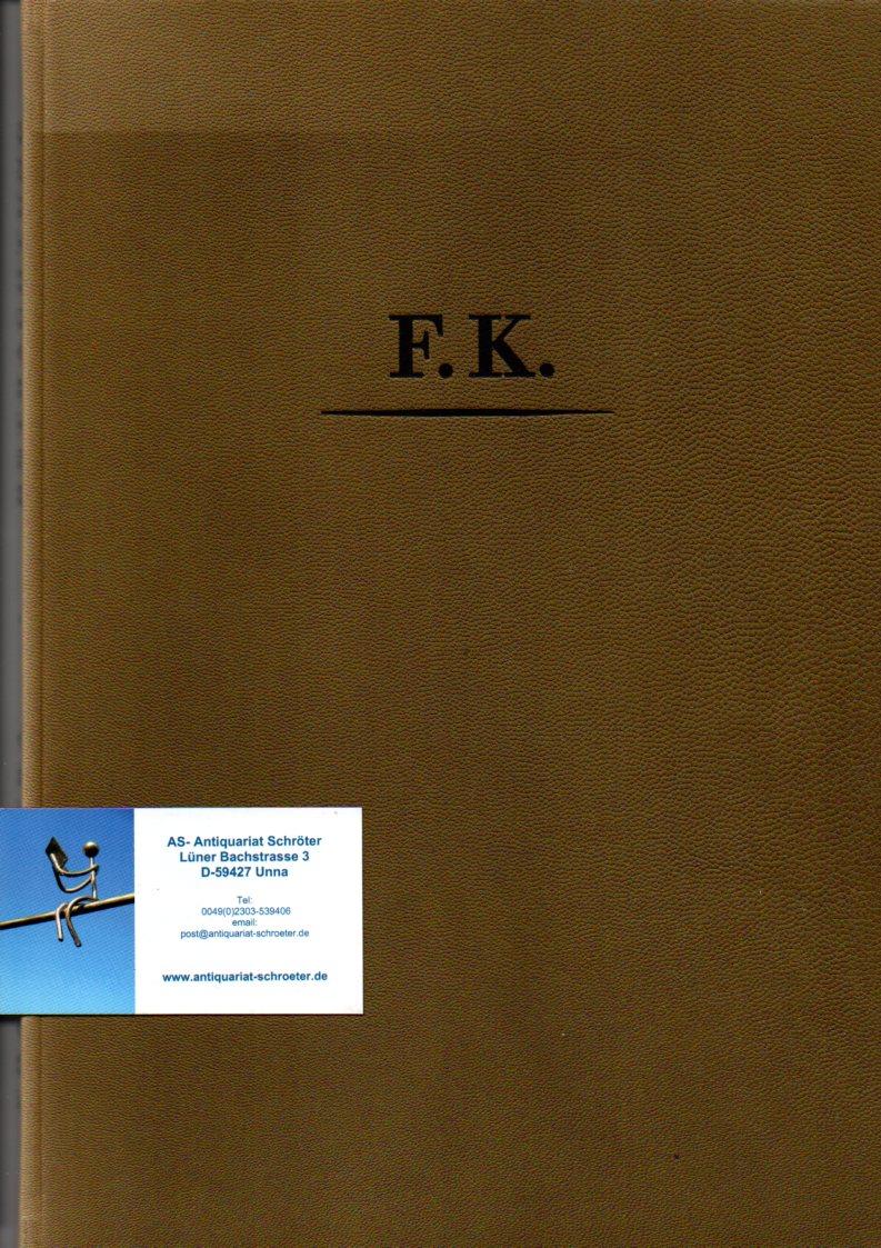 Betrachtung. Mit 18 Steinzeichnungen von Hermann Naumann.: Kafka, Franz (1883-1924):