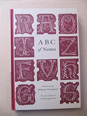 ABC of Names. With linocuts by Hellmuth: Acorn-Press: