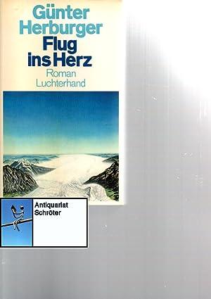 Flug ins Herz. Roman. 2 Bände.: Herburger, Günter (1932-2018):
