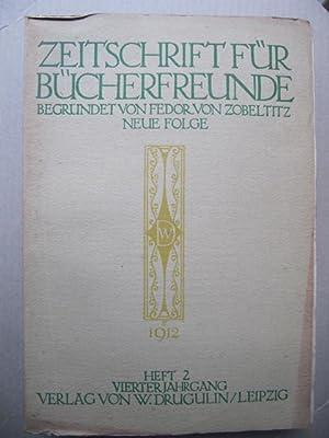 Organ der Gesellschaft der Bibliophilen (e.V.), der: Zeitschrift für Bücherfreunde