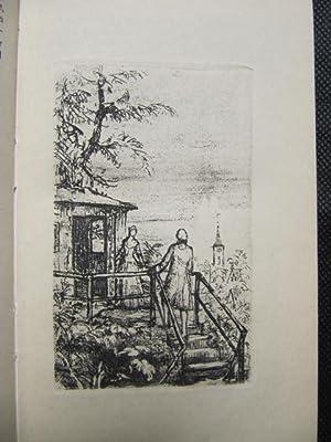 Die Wahlverwandtschaften. Roman. Mit Originalradierungen von Hans Meid. Nachwort von Thomas Mann.: ...