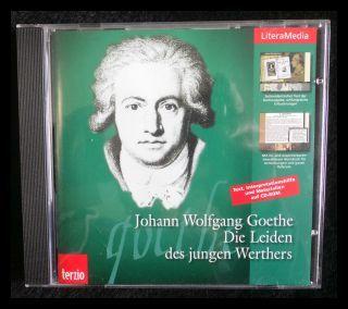 LiteraMedia Die Leiden des jungen Werther CD-: Goethe, Johann Wolfgang