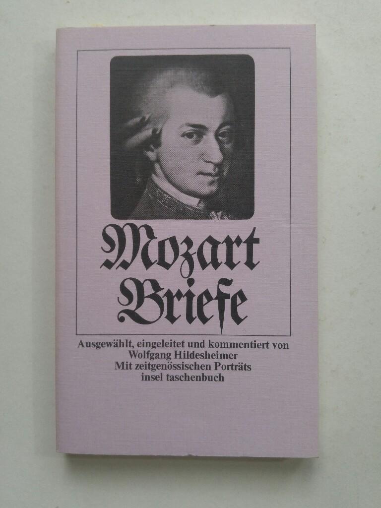 Mozart Brief: W. A. Mozart: