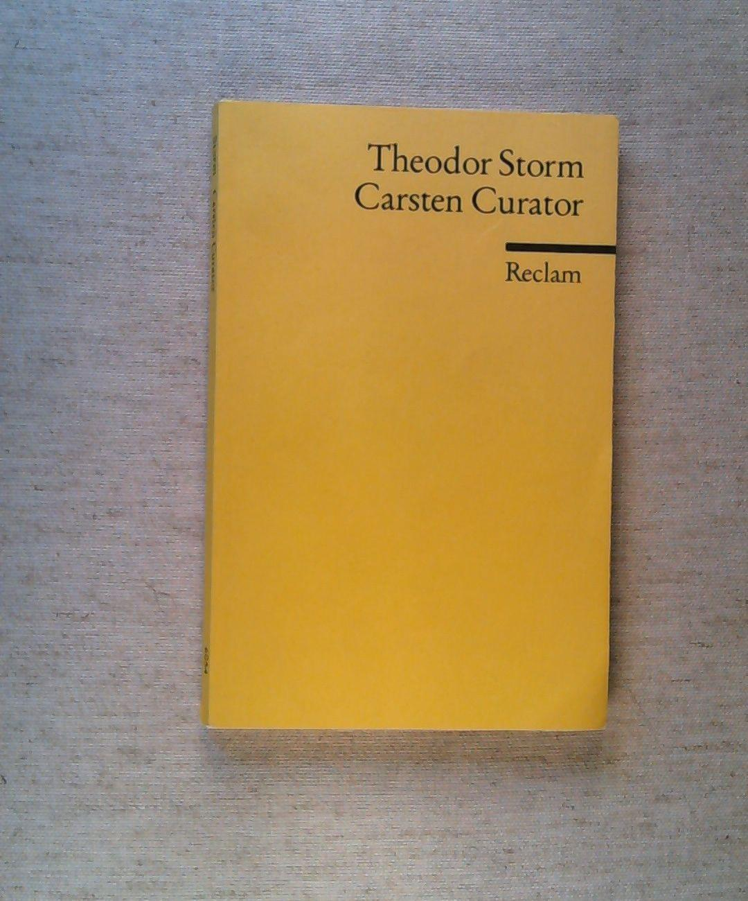 Carsten Curator.: Storm, Theodor