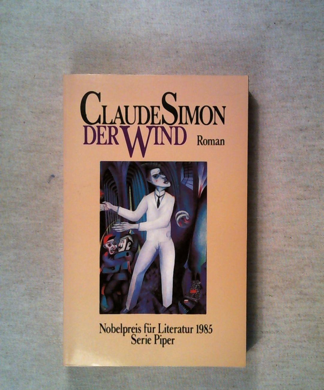 Der Wind. Versuch, einen Barockaltar wiederherzustellen.: Simon, Claude