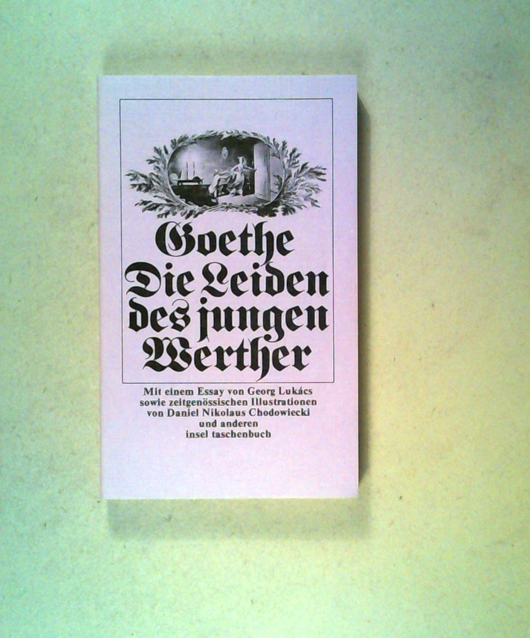 Die Leiden des jungen Werthers.: Goethe