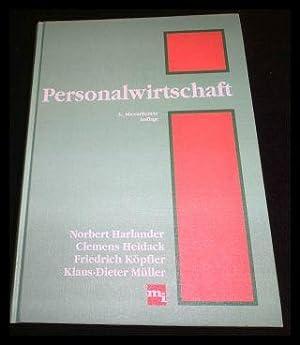 Personalwirtschaft.: Harlander, Norbert A.;