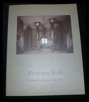 Klaus vom Bruch: Video-Installationen. Katalog 1/1990 zur: Haenlein, Carl: