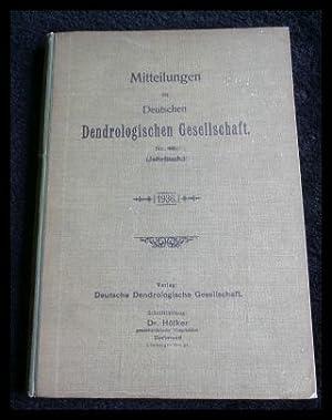 Mitteilungen der Deutschen Dendrologischen Gesellschaft. Nr. 48: Höfker, Dr. (Red.):