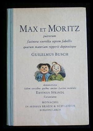 Max et Moritz puerorum facinora scurilla septem: Busch, Guilelmus (Wilhelm).