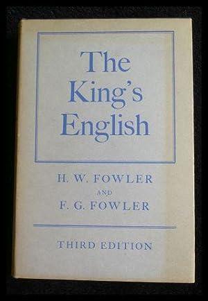 The King s English.: Fowler, H.W.: