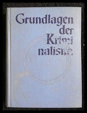 Grundlagen der Kriminalistik. Band 9. Rauschgiftmißbrauch -: Schäfer, Herbert. Hrsg.: