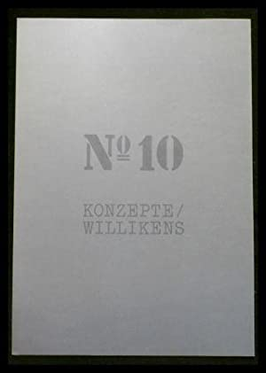 Konzepte No. 10: Willikens (Kunstmappe).