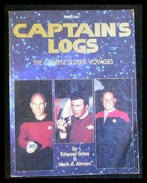Captain's Logs The Complete Trek Voyages.: Gross, Edward; Altman,