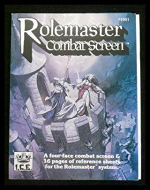 Rolemaster Combat Screen (Advanced Fantasy Role Playing: Charlton, S. Coleman
