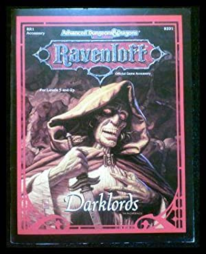Advanced Dungeons and Dragons: Darklords (Rr1 Accessory: Hayday, Andria