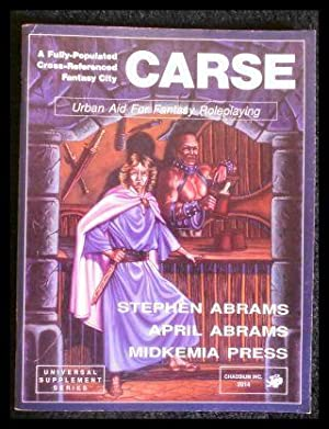 Carse: Urban Aid for Fantasy Roleplaying.: Abrams, Stephen; Abrams,