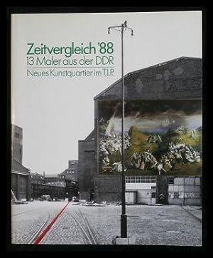Zeitvergleich 88. 13 Maler aus der DDR.: Galerie Brusberg (Hrsg.):