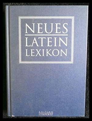 Neues Latein Lexikon Lexicon recentis latinitatis.: Libraria Editoria Vaticana