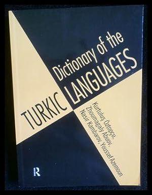 Dictionary of Turkic Languages.: Abouv, Zhoumagaly; Kambarov,