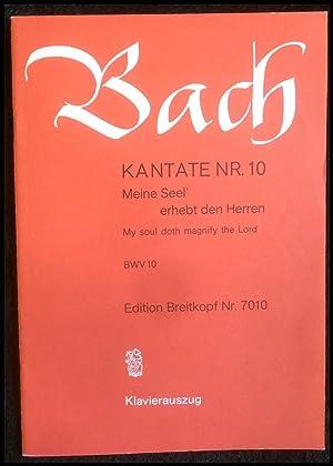Bach Magnificat D-dur BWV 243. Klavierauszugnach dem: Johann Sebastian Bach;