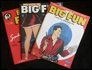Big Fun Comics Magazine Vol. 1, No. 1; 2; + 3 Starring Captain Easy and Scorchy Smith
