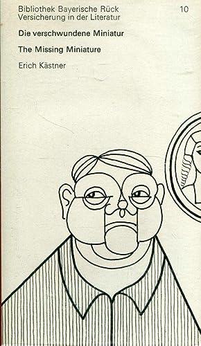 Die verschwundene Miniatur / The Missing Miniature: Kästner, Erich: