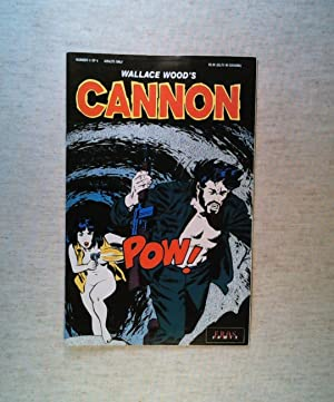 Wallace Wood's Cannon #5 of 8 (1991)