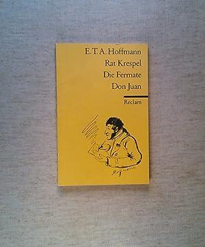 Rat Krespel und die Musik (German Edition)
