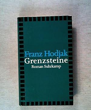 Grenzsteine: Roman.: Hodjak, Franz