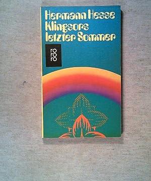 Klingsors letzter Sommer.: Hesse, Hermann