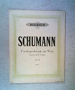 Faschingsschwank aus Wien Op 26. Klavier: Schumann, Robert: