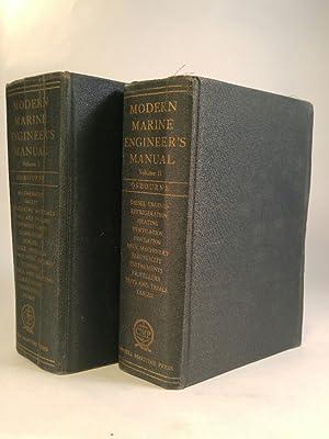 Modern Marine Engineer's Manual Vol. 1 +: Osbourne, Alan: