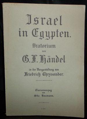 Israel in Egypten. Oratorium, in der Neugestaltung: Händel, Georg Friedrich:
