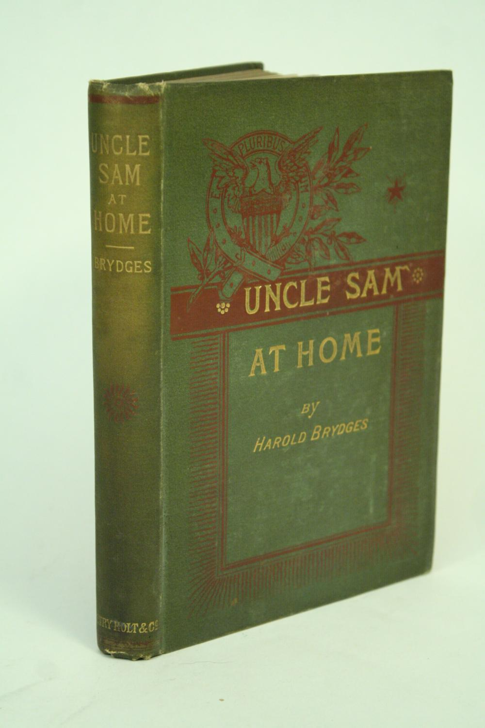 Uncle Sam at Home. Brydges, Harold Very Good Hardcover