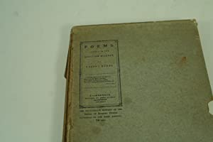 Poems, Chiefly in the Scottish Dialect.: Burns, Robert