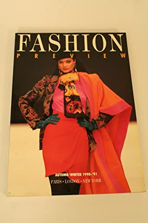 Autumn/Winter 1990-'91,: Fashion Preview,