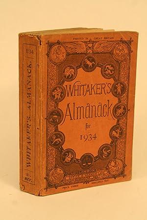Whitaker's Almanack For 1934.: Whitaker,
