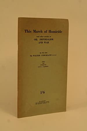The March of Homicide: Strickland, Sir Walter