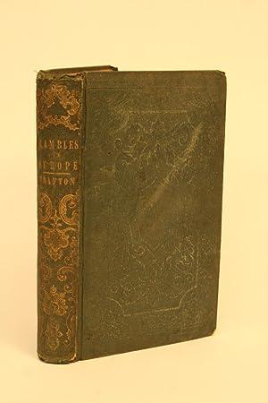 Rambles in Europe:: Trafton, Rev. M.