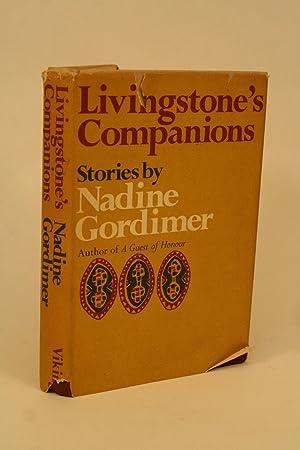 Livingstone's Companions.: Gordimer, Nadine