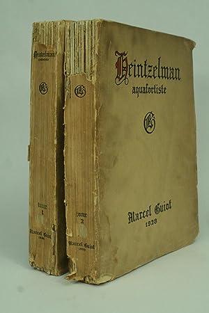 Arthur Wm. Heintzelman, Aquafortiste.: Guiot, Marcel