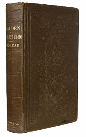 Walden; Or, Life in the Woods.: THOREAU, Henry David.