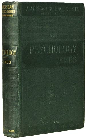 American Science Series, Briefer Course: Psychology.: JAMES, William.
