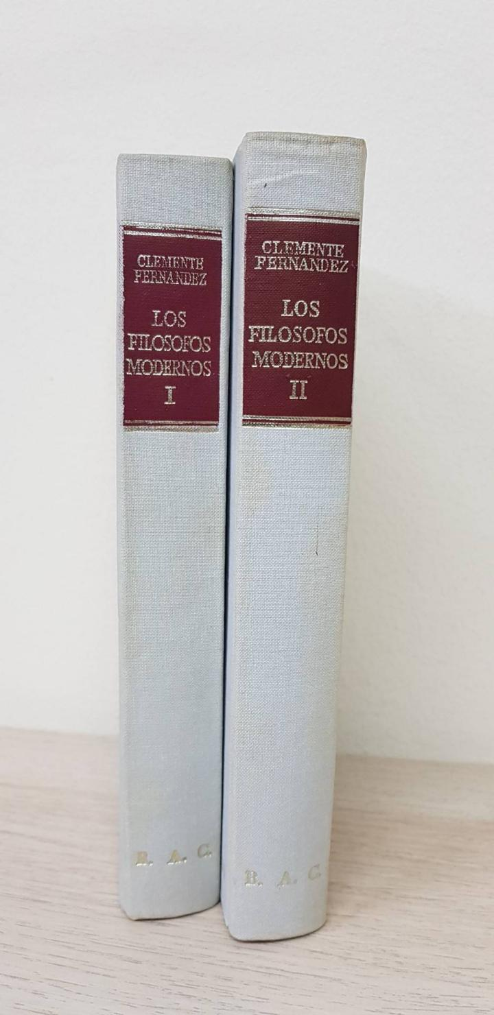 Los Filósofos Modernos (Obra Completa, Tomos I - Ii) - Clemente Fernández