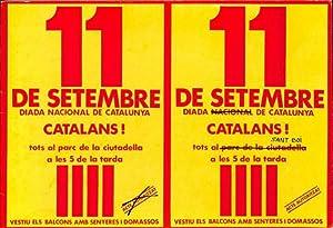 11S] - Onze de Setembre (La Diada en Fotografies i Textos)