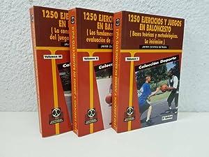 1250 Ejercicios Y Juegos En Baloncesto (3: Javier Olivera Betrán
