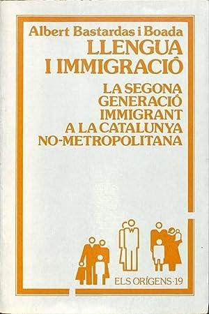 Llengua i Immigració: La Segona Generació Immigrant: Albert Bastardas i