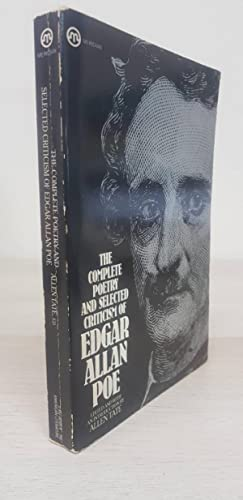 The Complete Poetry And Selected Criticism Of Edgar Allan Poe